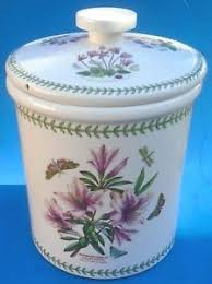 portmeirion botanic garden bread crock unique portmeirion botanic garden bread crock large storage jar 13½