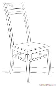 armchair drawing step by step. Simple Step To Armchair Drawing Step By A