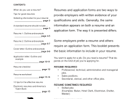 Resume Page Layout Computer Resume Examples Resume For Study