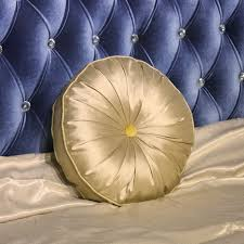 round decorative pillows. Contemporary Decorative Golden Round Throw Pillows For Decorative C