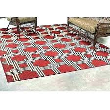 red outdoor rug indoor five seasons chevron rugs patios round carpets in x comfortable carpet mat