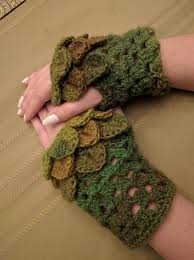 Dragon Scale Fingerless Gloves Pattern Free Magnificent Design