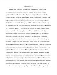 Example Of Scholarship Essay Free 9 Scholarship Essay Examples In Pdf Examples