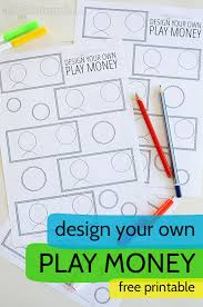 Printable Play Money Design Your Own Printable Play Money Picklebums
