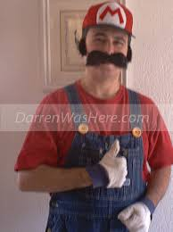 thrift super mario costume d i y