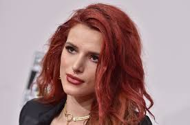 Bella Thorne S New Jet Black Hair And Bangs Situation Is Even