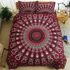 boho bedding sets bohemian style luxury mandala bedding set twin queen king size comforter duvet quilt boho bedding sets