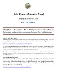 Gila County Superior Court