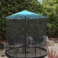 patio umbrella mosquito net for 9