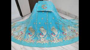 Latest Design Of Rajputi Poshak Latest Half Pure Embroidery Poshak Chandri Rajputi Poshak Dress