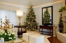 White Walls Decorating Living Room Best Interior Decoration Ideas Beautiful Christmas