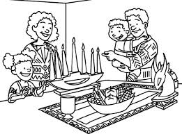 Small Picture Lighting The Kwanzaa Coloring Page Kwanzaa Pinterest Kwanzaa