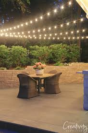 How To String Cafe Lights Quick Tips For Hanging Outdoor String Lights