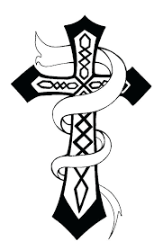 Cross Coloring Pages Free Cross Coloring Page Cross Coloring Pages