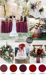 wine red wedding. Burgundy Wedding Theme Autumn Wedding Shades of Burgundy Maroon