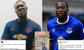 Irish Herald confuses Stormzy and Romelu Lukaku