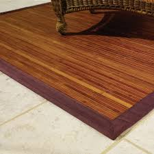 stunning idea of perfect brown bamboo rugs for living room decoration