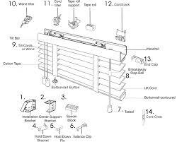2 Inch Blind Parts SchematicsReplacement Parts For Window Blinds