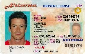 An License Look Like Does What Arizona Driver's