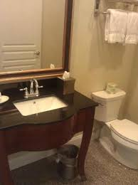 hotel bathroom fixtures. Federal Pointe Inn, An Ascend Hotel Collection Member: Nice Bathroom Fixtures And Marble Floor E