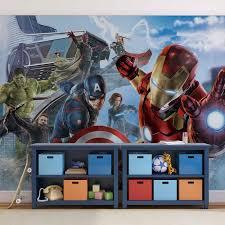 Marvel Avengers Team Fotobehang Behang Bestel Nu Op Europostersbe