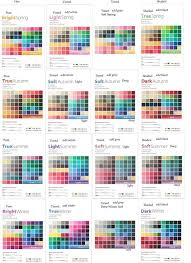 16 Color Chart 16 Color System Every Color Chart For The 16 Color System