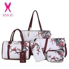 <b>YANXI</b> 2018 Hot Fashion 5pcs/set <b>Women Handbag</b> Famous Brand ...