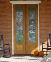 double storm doors. Double Signature White Oak Storm Doors With Solid Brass Mortise Knob/lever Set And Ball