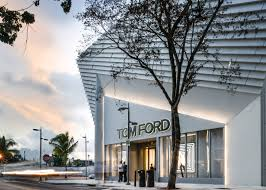 Miami Design District Stores Arandalasch Adds Pleated Concrete Facade To Tom Ford Store