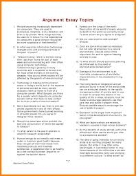 list of essay topics budgets examples 7 list of essay topics