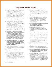 list of essay topics budgets examples 7 list of essay topics