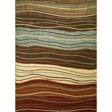 chester waves multi 5 ft x 7 ft area rug