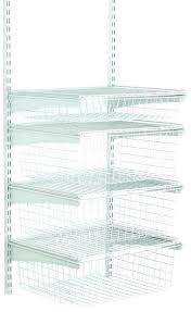 shelf track 4 drawer kit white kitchen cabinet system brackets standard dual adjule brac