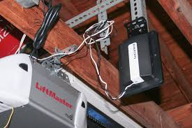 the gocontrol s option to mount the device onto the garage door s hardware makes installation a lot easier photo jennifer pattison tuohy