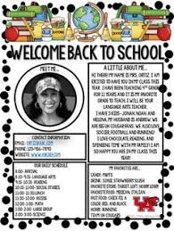 Welcome Back To School Letter Templates 17 Best Teacher Welcome Letters Images First Class Preschool School