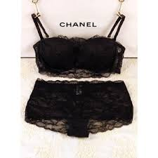 chanel underwear. chanel underwear set - bra \u0026 panties h