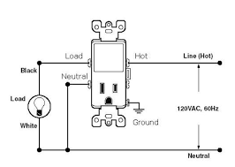 wiring a switch to an outlet diagram wiring diagram and electrical wiring outlet to switch light craluxlighting