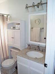 white corner bathroom cabinet