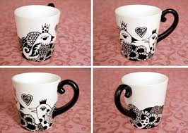 Art|Handmade|Design | Imaginative Bloom. Sharpie Paint PensSharpie MugsCeramic  ...