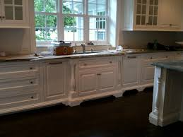 Kitchen Sink Furniture Cabinet Feet Forward Set Sink Split Post Mouldings Kitchen
