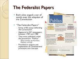 and anti federalist essay federalist and anti federalist essay