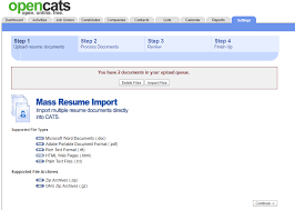 Resume Import Oops There Is A Problem With You Request Issue
