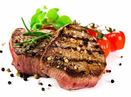 cooked steak with white background. Beautiful Cooked Grilled Bbq Steaks On White Background Throughout Cooked Steak With White Background Kuisiwarecom