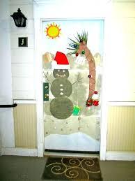 office christmas door decorations. Office Door Decorations For Christmas The Decorating Ideas Medium Size Of