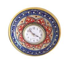 handcrafted marble wall clock marble
