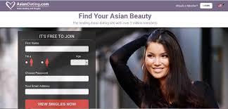 For the first asian dating