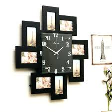 picture frames on wall simple. Wall Clock Picture Frame Glamorous Plus Modern Simple Style Creative Children Room Living Photo Black White 2 With Frames On