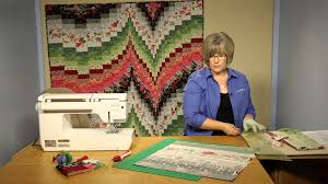 Quilting Quickly: Fire & Ice Bargello Quilt Pattern - YouTube &  Adamdwight.com