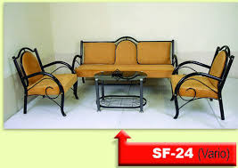 wrought iron sofa set sf24 metal sofa