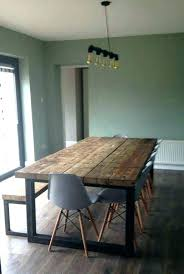 round wood and metal dining table steel and wood dining table wooden metal table wooden dinner
